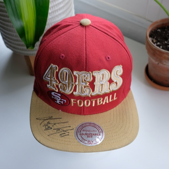 Mitchell & Ness Other - Signed San Fransisco 49ers Hat